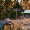 You Hear Music Coming From a Cabin in the Woods: a halloween mix