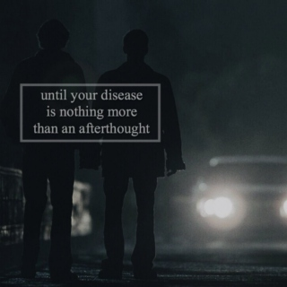 until your disease is nothing more than an afterthought