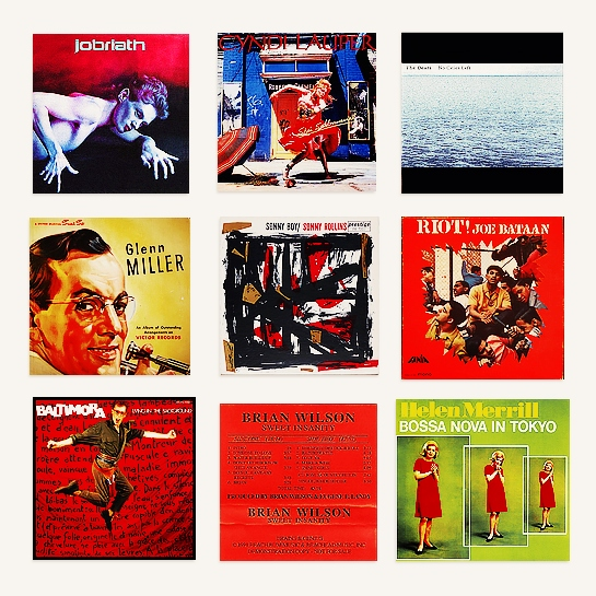 a selection of records