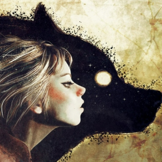 Tulip and her Wolf