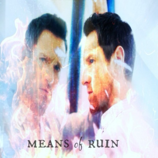 means of ruin