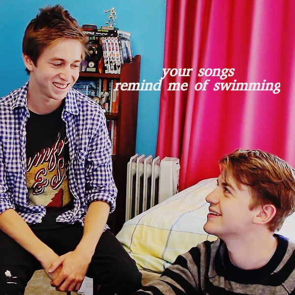 your songs remind me of swimming
