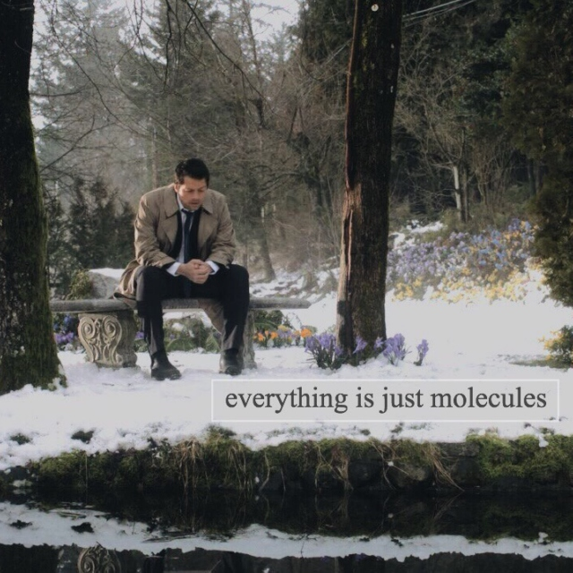 everything is just molecules