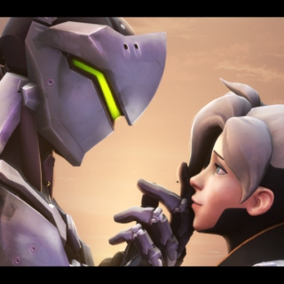 The Sparrow and the Dove - Genji x Mercy