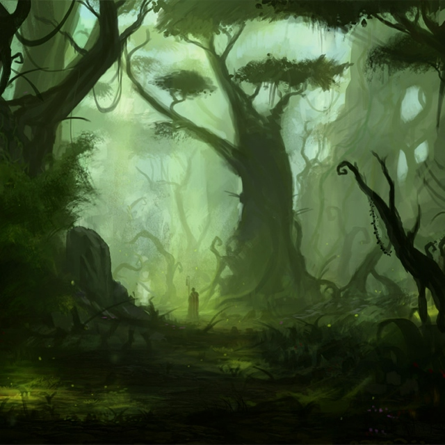 Forests deep and caverns dim pt. 2