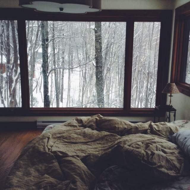 Winter is for being cozy
