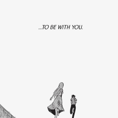 ...to be with you