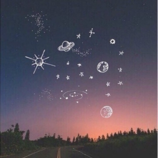 """""""i am the stars you see when you rub your eyes."""""""