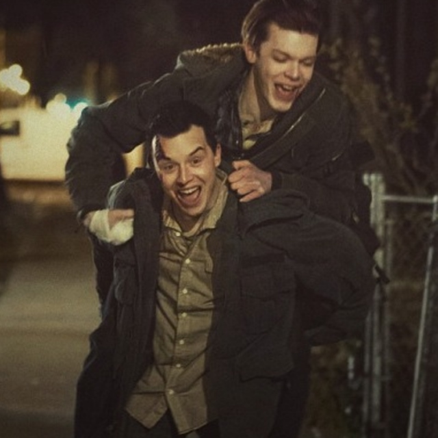 your oldest friend: a gallavich mix