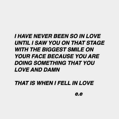 // never stop loving you //
