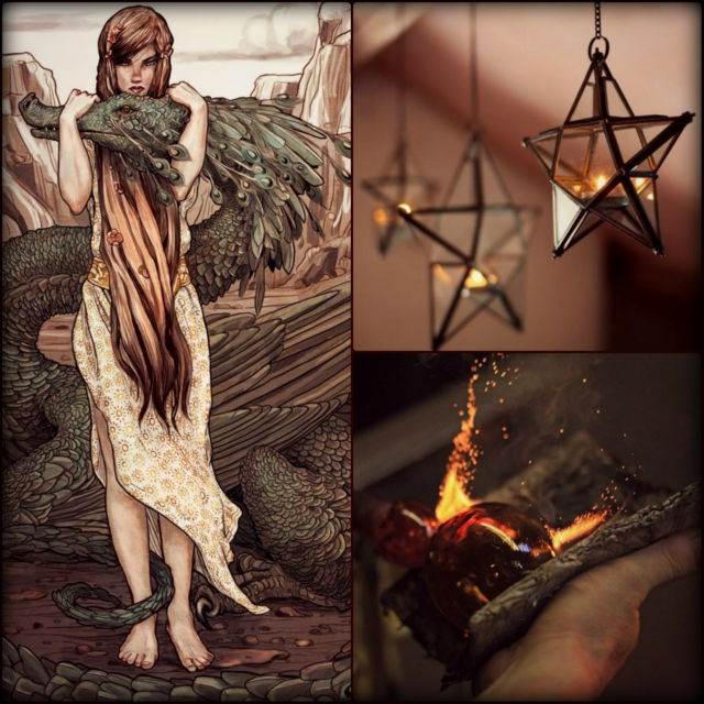 The Glassblower and the Dragon: A Tatoo Suns Faerie Tale