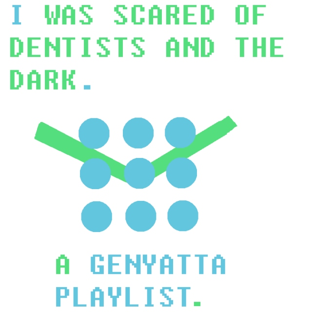 i was scared of dentists and the dark