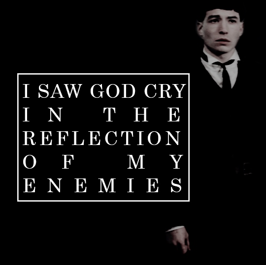 I saw God cry in the reflection of my enemies // A Credence Barebone fanmix
