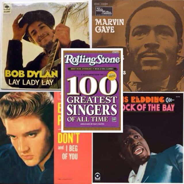 Rolling Stone 100 Greatest Singers Of All-Time - Ballads