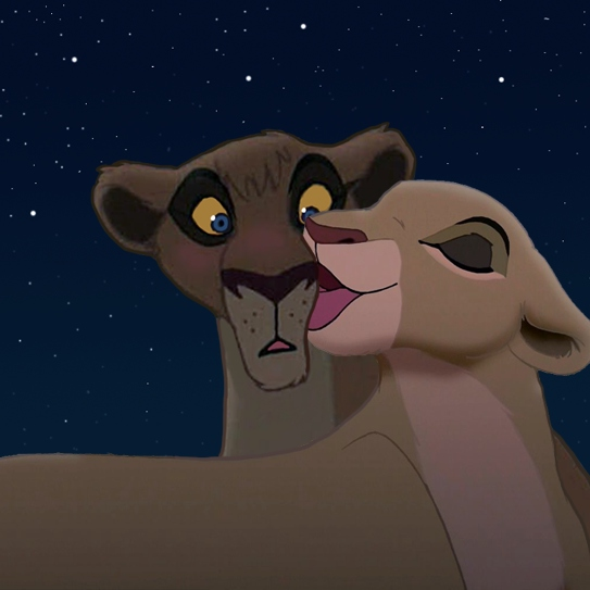 """Where's your pretty daughter, Nala?"""