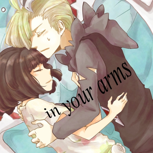 in your arms;