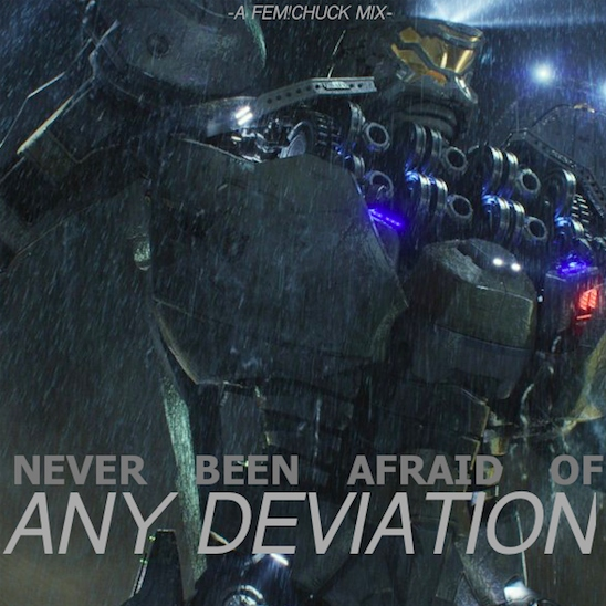 NEVER BEEN AFRAID OF ANY DEVIATION