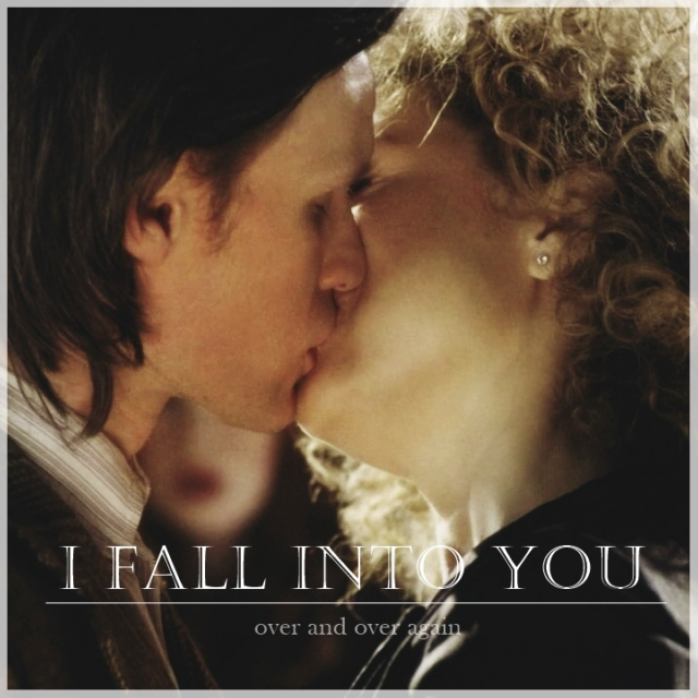 I fall into you