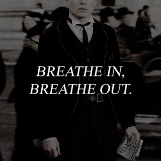 breathe in, breathe out.