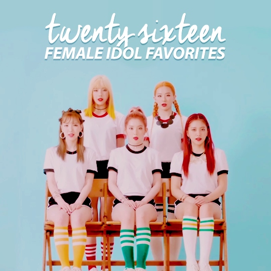 2016 FEMALE IDOL FAVORITES