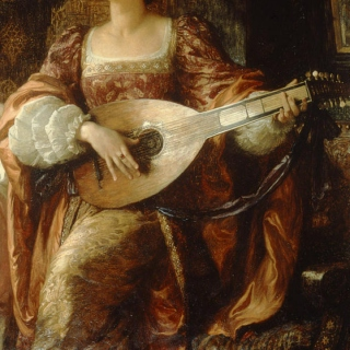 bard's lute.