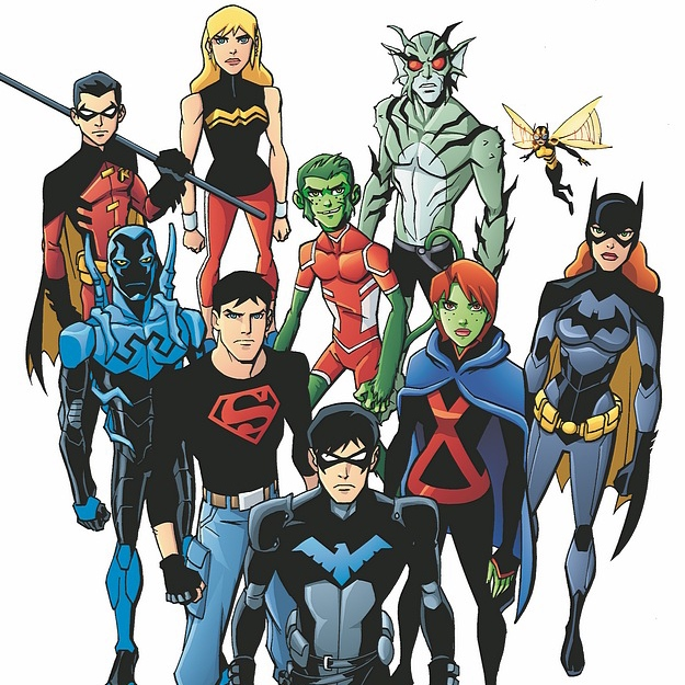 Young Justice Tribute