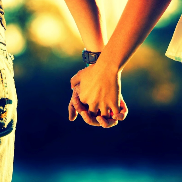 Sometimes All A Person Needs Is A Hand To Hold and A Heart To Understand.