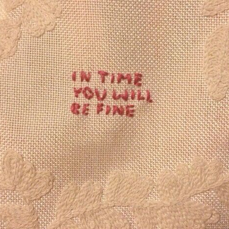 in time you will be fine