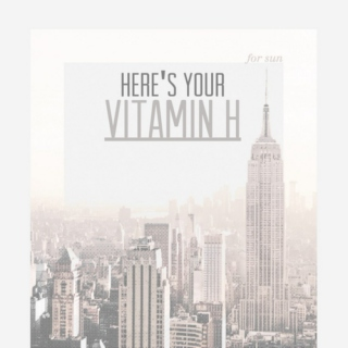 Here's Your Vitamin H