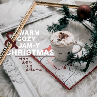 Warm cozy jam-y christmas (of korean songs)!
