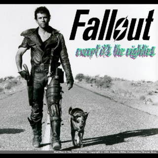 """ok imagine fallout, but the eighties"""
