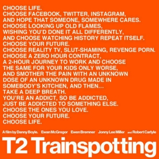 Trainspotting 2: Coming up!