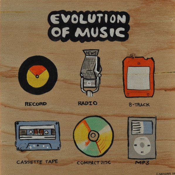Evolution of Music 1960's - 2016's Re-Uploaded (The Nostalgia of 3 Generations) Happy New Year!