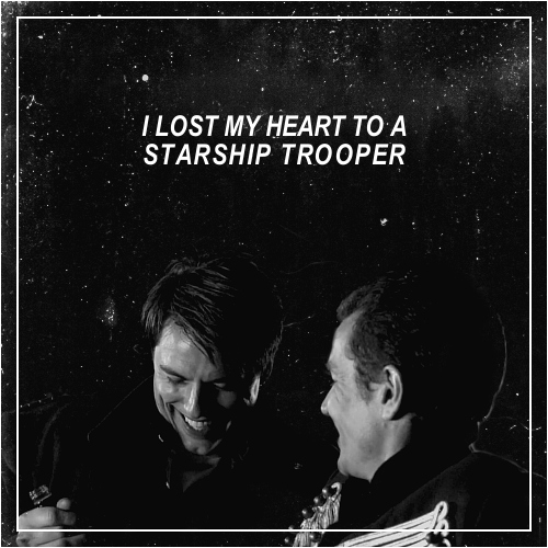 I lost my heart to a starship trooper