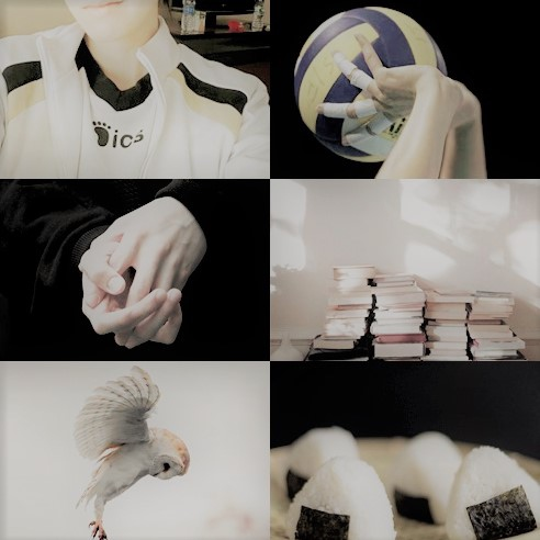 BokuAka mix side A | Akaashi (night)