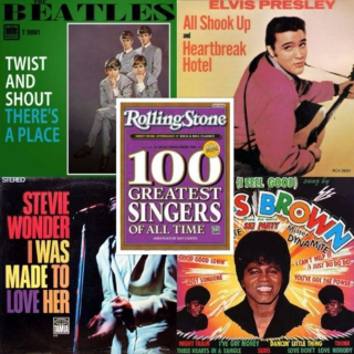 Rolling Stone 100 Greatest Singers Of All-Time - Happy Songs