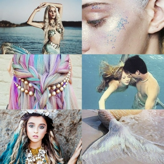 Of Mermaids and Pearlescent Waves