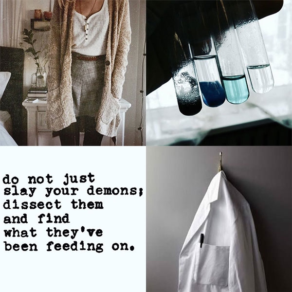 Dissect your demons {Keyra playlist}