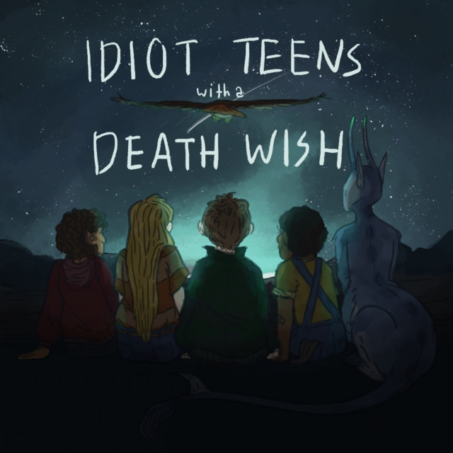 idiot teens with a death wish