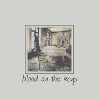 blood on the keys