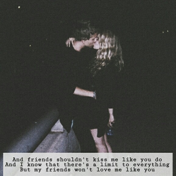 We're just friends