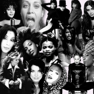 90s Sampler #23: JANUARY 2017 (NastyWomen+GeorgeMichael)