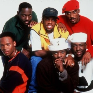 New Edition: Ronnie, Bobby, Ricky, Mike, Ralph and Johnny