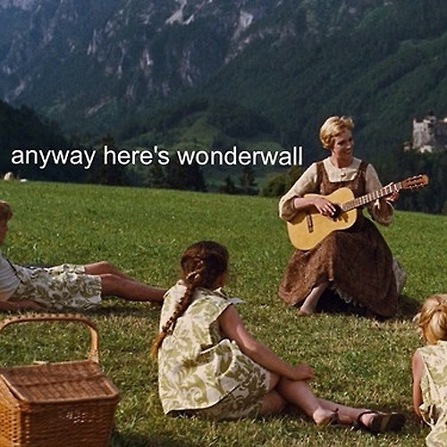 """the kind of guy that always plays his guitar at parties aka """"anyway here's wonderwall"""" guy"""