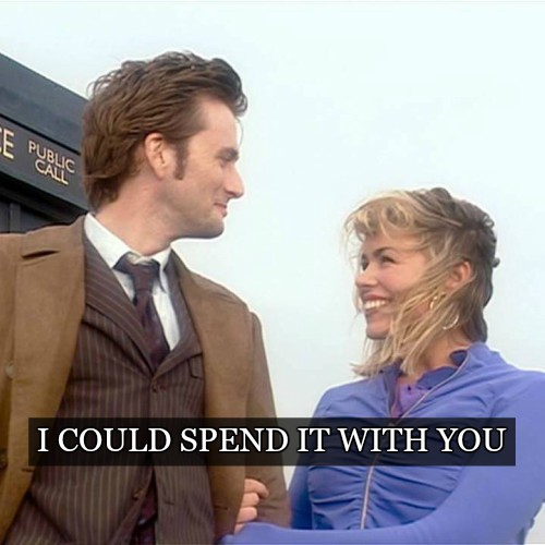 I could spend it with you