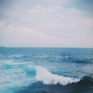 On the Blue Shore of Silence