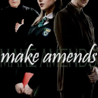 make amends