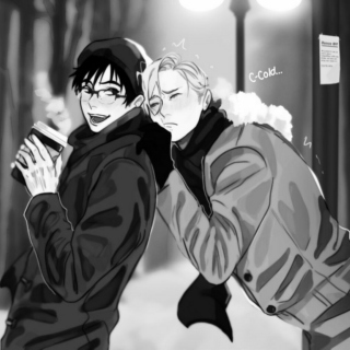Skating to Victuuri