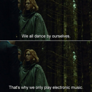 We all dance by ourselves.