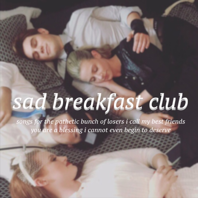 sad breakfast club